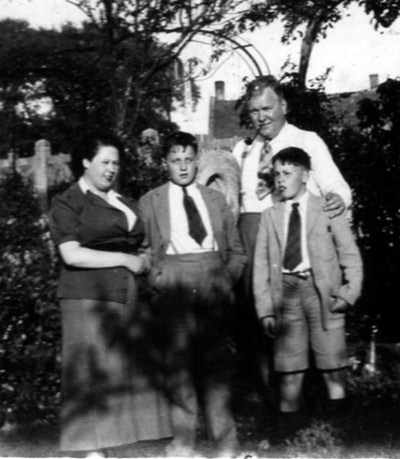 The Gregson family in 1939