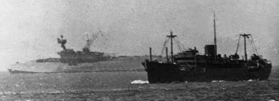 HMS Eagle sinking, August 1942