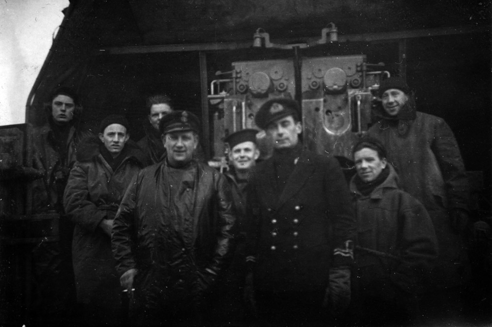 A Gun Crew on HMS MIddleton