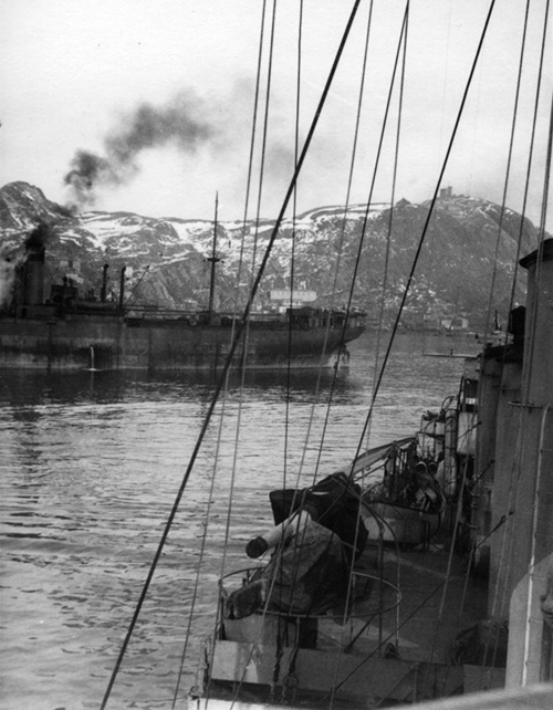 Steamer at Havelfjord