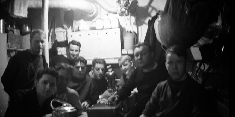 Mess Deck on HMS Venomous