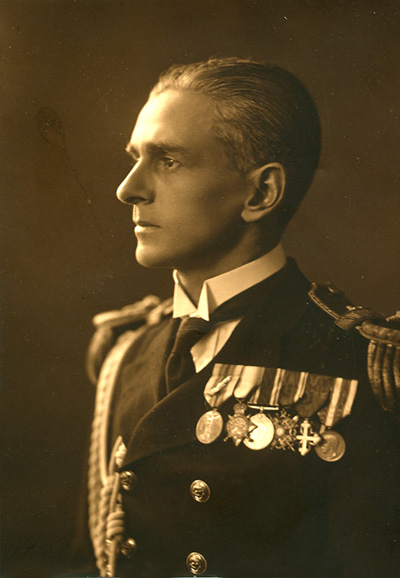 Cdr Eric E.C. Tufnell RN aged about 40