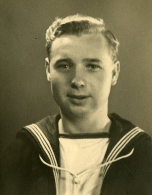 Fred Thomas, RDF Operator on HMS V enomous