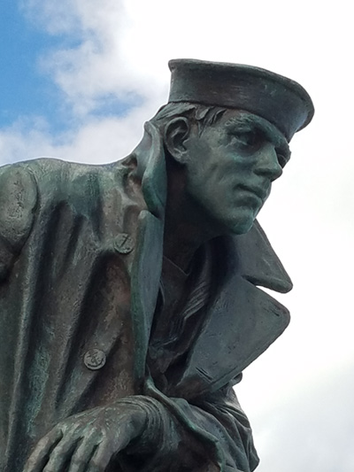 The Sailor Statue at Jacksonille, Florida