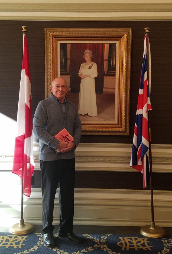 Meerting the Queen at the RCMI in Toronto on 6 March 2019