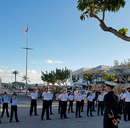TS Somers, Bermuda, Sea Cadet Unit,