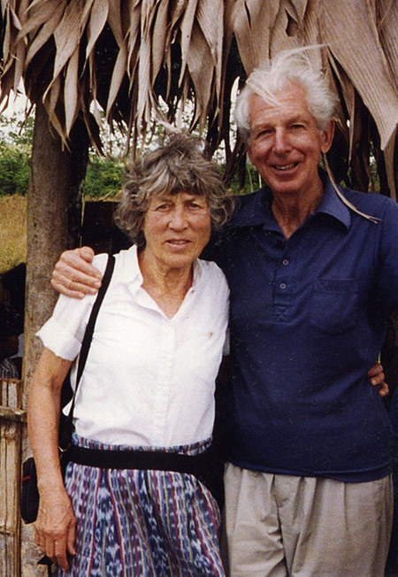 Karel Dahmen and wife