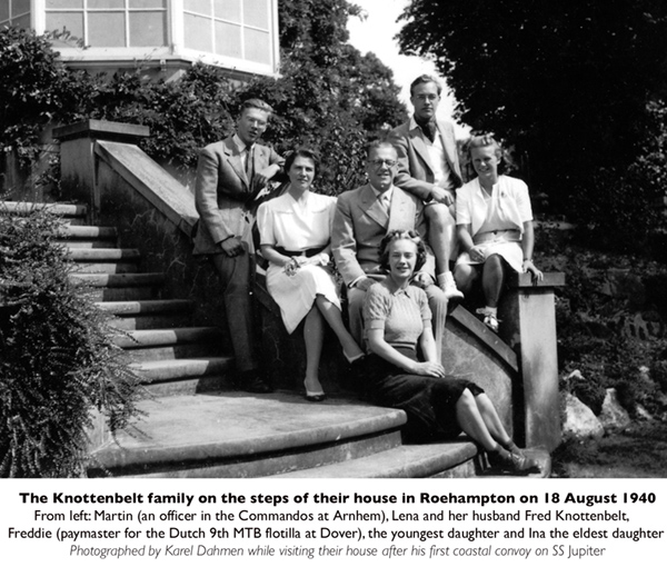 The Knottenbelt family, Roehampton