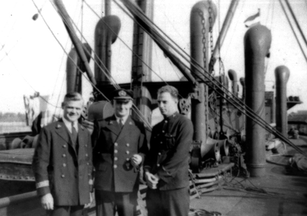 Engineers on SS Jupiter