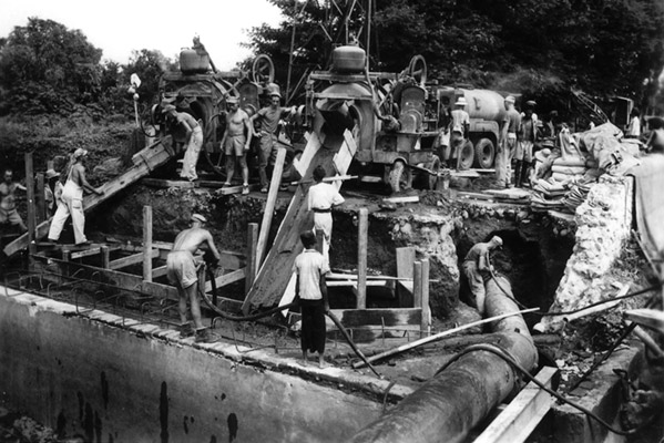 Bridge Building, Dutch East Indies