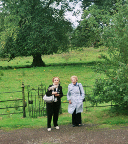 By the gate into the field where Jacqueling played, Lanark