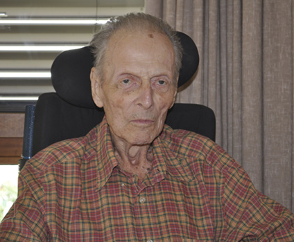 Miroslav Stanley Lansy on his 89 birthday