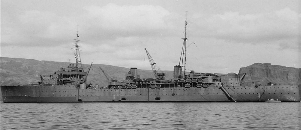 HMS Hecla Iceland