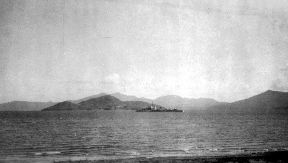 HMS Active off Madagascar