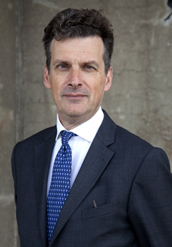Sir Geoffrey Adams, British Ambassador to the Netherlands